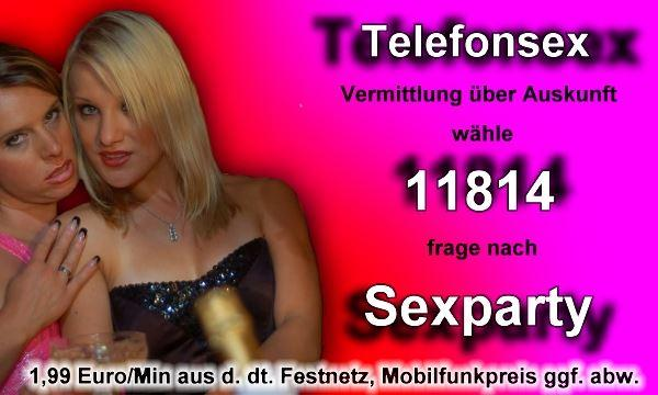 Telefonsex Sexparty ohne 0900 Nummer
